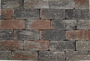 Wallblock Tumbled 30x12x12 cm Texels bont