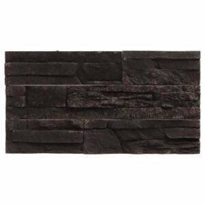 Wall Design Odyssee 21/31,5/52,5x9,2x2,5 cm Antraciet