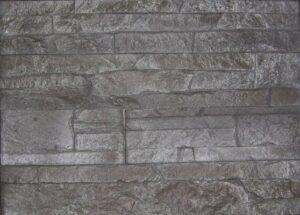 Wall Design Odyssee 21/31,5/52,5x9,2x2,5cm Antraciet-Chrome