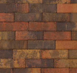 Bruin Dikformaat Getrommeld 21x6.8x6