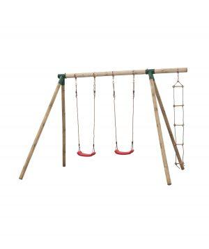 Dubbele schommel met ladder Charlotte