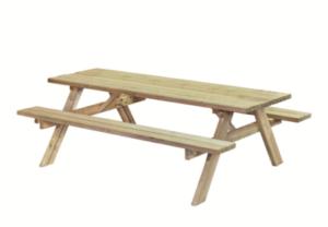 Picknicktafel L180 - B155