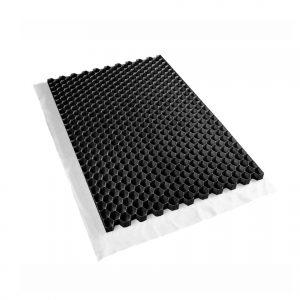 Plusgarden Grindmat Zwart 120x80x3 cm