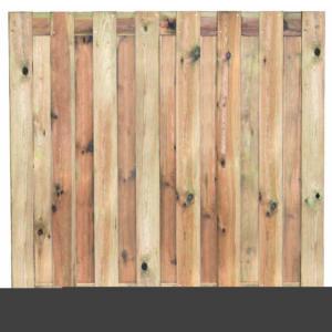 Tuinscherm geïmp. 15 planks Coevorden 180x180cm